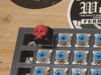 机械键盘 骷髅 键帽