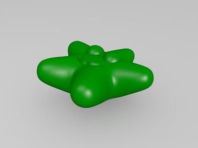 闪亮的星星-3d打印模型