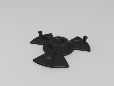 塑料垫片-3d打印模型
