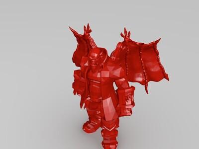 变异魔兽-3d打印模型
