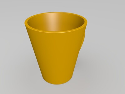 水杯-3d打印模型