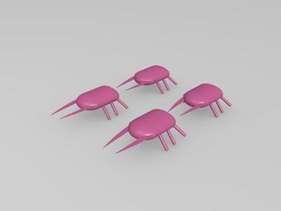 甲虫-3d打印模型