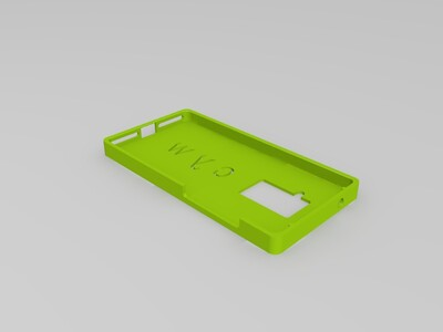 乐视2 PRO 手机壳-3d打印模型