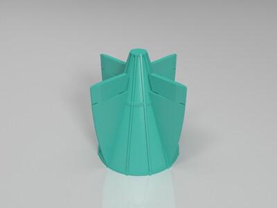 飞艇-3d打印模型