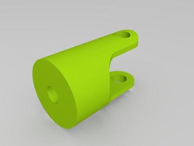 万向节(十字轴)-3d打印模型