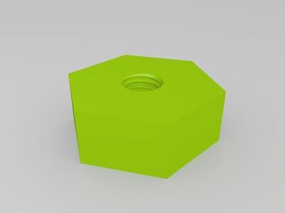 螺帽-3d打印模型