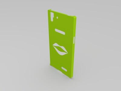 OPPOr7手机壳-3d打印模型