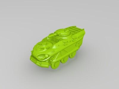 装甲运兵车-3d打印模型