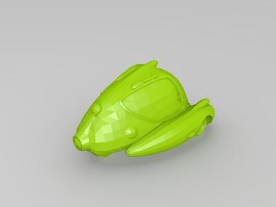 迷你三轮车-3d打印模型