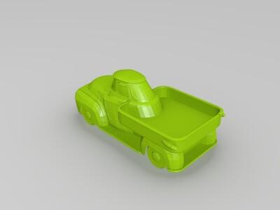 游戏模型-轻型货车-3d打印模型