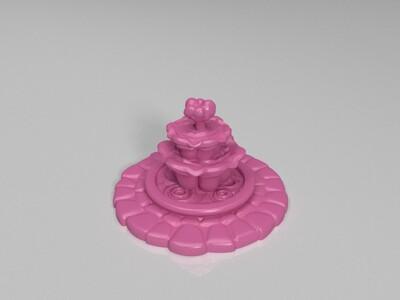小公园-3d打印模型