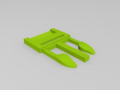 背带扣-3d打印模型