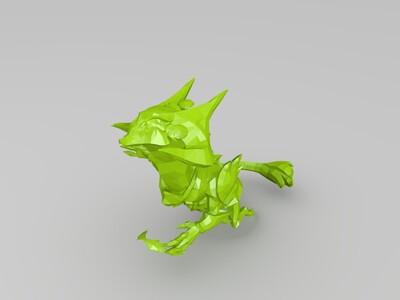 英雄联盟灰烬领主-3d打印模型