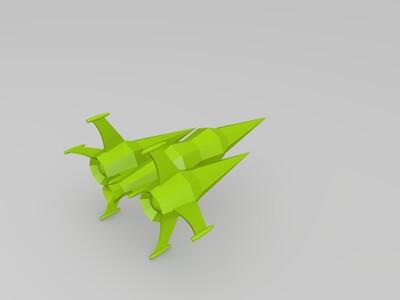 宇宙战舰-3d打印模型