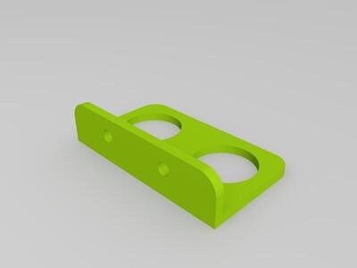 超声波传感器支架-3d打印模型