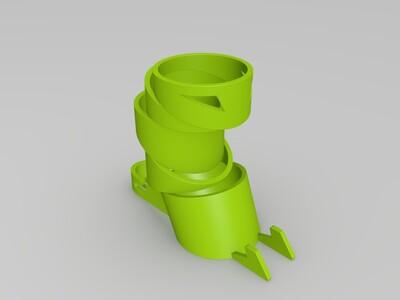 忍者笔筒-3d打印模型