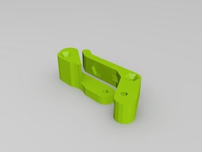 MK7挤出机-3d打印模型