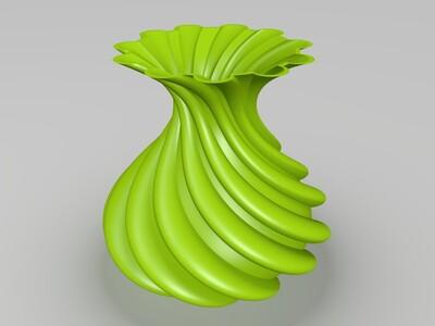 艺术花瓶-3d打印模型