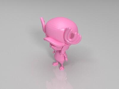 乔巴-3d打印模型