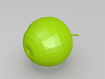 很可爱的苹果-3d打印模型