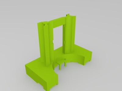 东莞市海德广场-3d打印模型