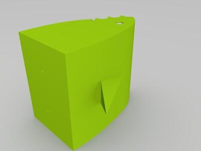 鯊魚盆栽-3d打印模型
