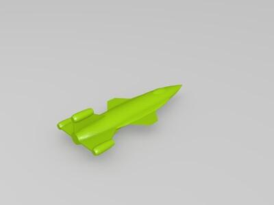 火箭-3d打印模型