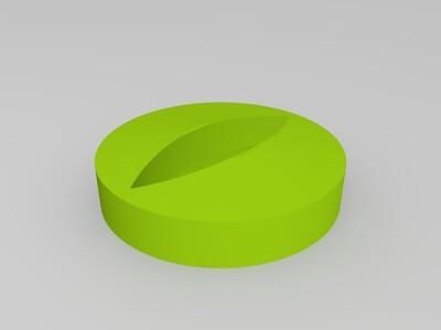 骷髅糖果盒-3d打印模型