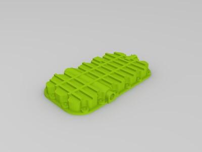 闷盖-3d打印模型
