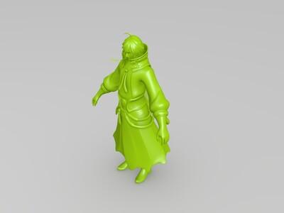 王者荣耀——李白-3d打印模型