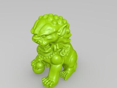 雄狮 -3d打印模型