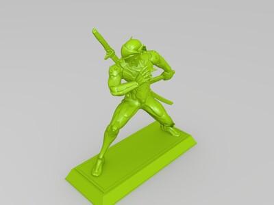 守望先锋里的源氏,高精度-3d打印模型