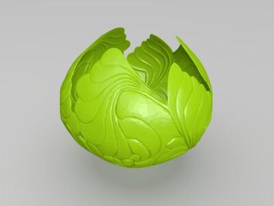 花型灯罩-3d打印模型