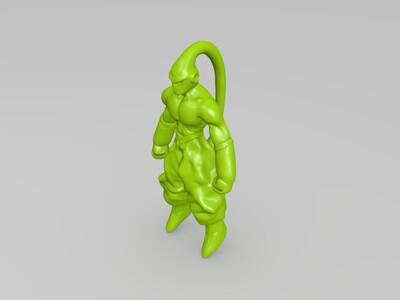 魔人布欧-3d打印模型