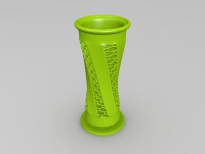 镂空瓶子-3d打印模型