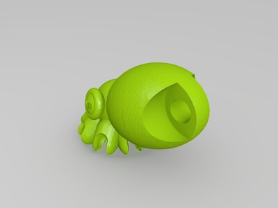 八爪鱼-3d打印模型