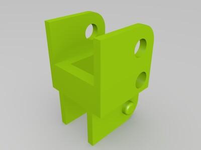 3D打印机电缆链-3d打印模型