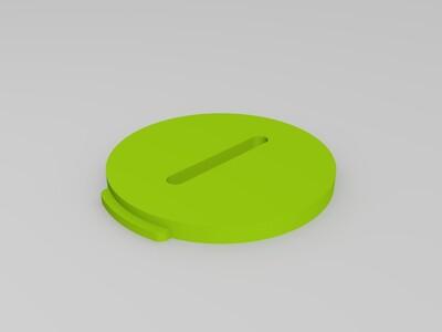 镂空猪储蓄罐-3d打印模型