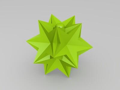 十四面体圣诞球