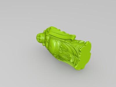 高清弥勒佛全集1-3d打印模型