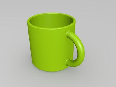 简单的马克杯-3d打印模型