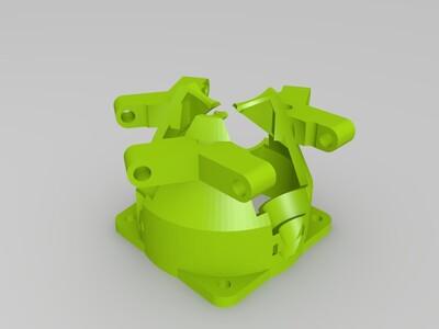 混色打印喷头件-3d打印模型