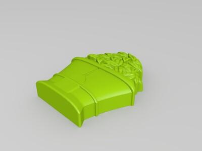 树叶装饰品-3d打印模型