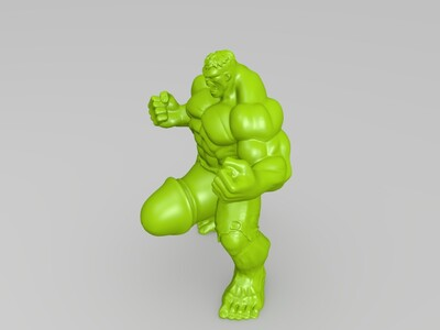 """绿""""巨""""人   大jj-3d打印模型"""