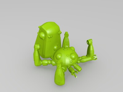 塔奇克马-3d打印模型