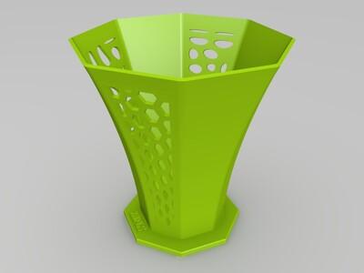 镂空花瓶(拓扑建模)-3d打印模型
