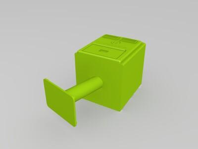 彎腰郵筒-3d打印模型
