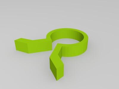 钢铁侠-make1(左臂)-3d打印模型