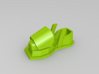 钢铁侠-make1(右腿)-3d打印模型