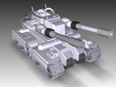定南坦克C12-7-3d打印模型